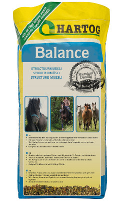 Balance Hartog fibre rich muesli horsefeed for recreation and hobby