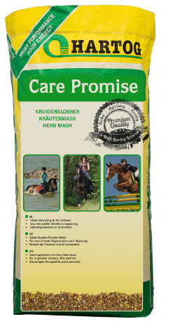 horsefeed Hartog Care Promise slobber for fast recovery after training or stress