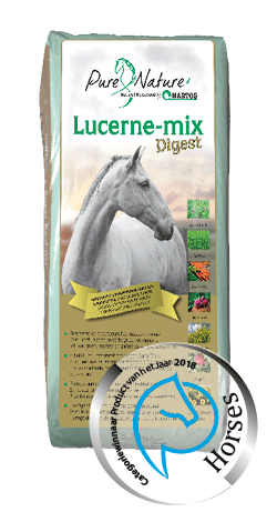 Lucerne-mix Digest fiber rich roughage for horses with stomach and intestinal problems