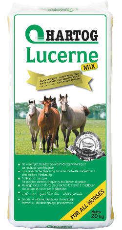 Lucerne-mix ruwvoer voor paarden
