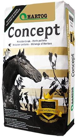 Concept Hartog - Concept, cheval de sport, plantes, énergie, naturel, rendement ration